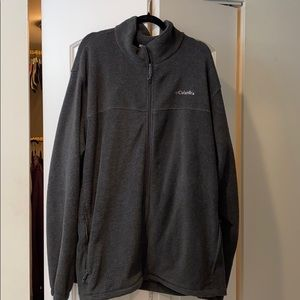 Men's Grey Columbia Fleece